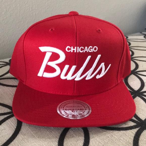 Mitchell   Ness Chicago Bulls SnapBack•HAT NWOT d0b045612e5b